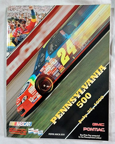 (NASCAR Pennsylvania 500, Pocono Raceway - July 25, 1999 Souvenir Program)