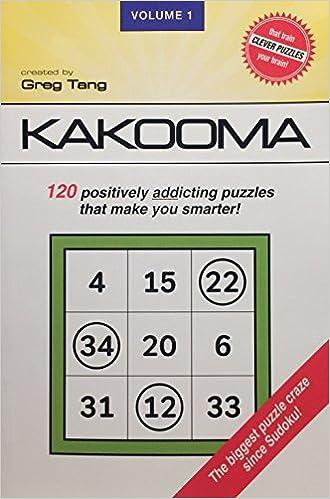 Kakooma Puzzles: Greg Tang: 9781612460086: Amazon.com: Books