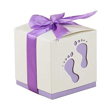 Amazon.com: Cajas de caramelos para bebé, 50 unidades, caja ...