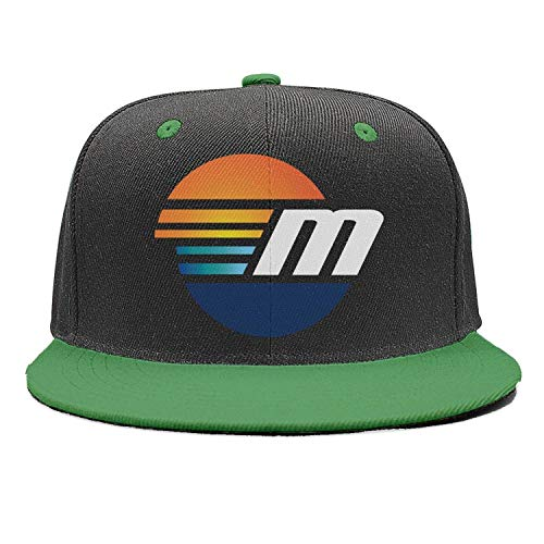 Malibu Hat - Kseerbaball Fashion Cap Adjustable Malibu-Boats-Logo-m-White- Green Designer Trucker Caps