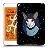 Official Star Trek Spock Cats TOS Soft Gel Case Compatible for iPad Mini (2019)