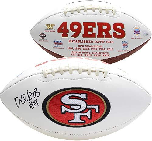 Deebo Samuel San Francisco 49ers Autographed White Panel Football - Fanatics Authentic Certified - Autographed Footballs from Sports Memorabilia