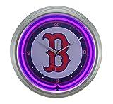 MLB Boston Red Sox 15 in Neon Clock