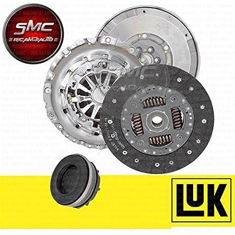 Kit Embrague 3 piezas con reggispinta mecánico 624 3308 00 + Volante original Luk 4 piezas 415 0244 10: Amazon.es: Coche y moto