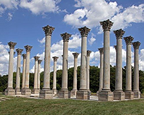 ClassicPix Photo Print 8x10: National Capitol Columns, View 1, United States National (National Capitol Columns)