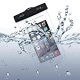 Premium Waterproof Case Transparent Bag Cover with Touch Screen for LG G5 G6 G7 ThinQ Stylo 3 V20 V30 - Motorola Droid Turbo 2, Moto Z Droid, Force, Z2 Force - ZTE Grand X3, X4