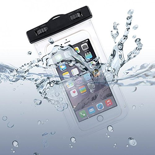 detailed look db3df 03d2a Waterproof Case Transparent Bag Cover Cover with Touch Screen for Verizon  Samsung Galaxy J3 Mission Eclipse - Verizon Samsung Galaxy J3 V - Verizon  ...