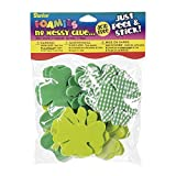Darice 1038-20 St. Patrick's Day Assorted Shamrocks Stickers - 30 Pc (1 Pack)