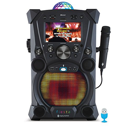 Singing Machine SDL9037 Fiesta Karaoke System