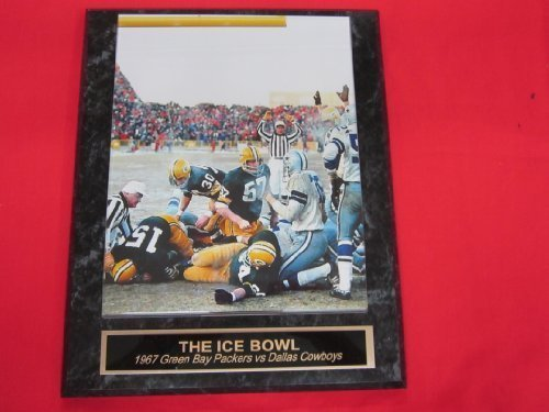 Bart Starr Green Bay Packers ICE BOWL Engraved Collector Plaque #1 w/8x10 Color Photo Bart Starr Ice Bowl