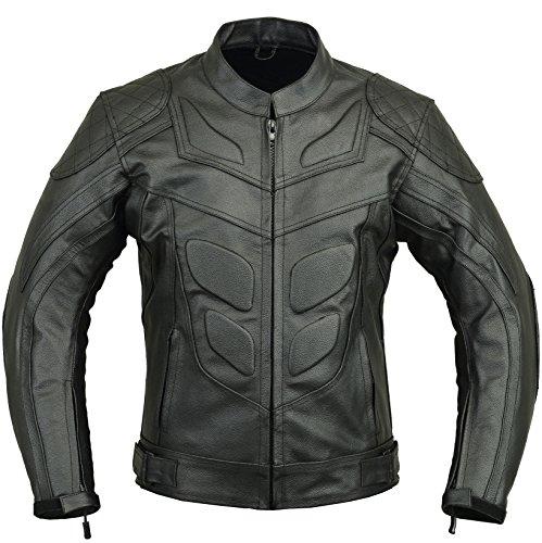 Batman Leather Motorbike Protective Jacket, - Motorcycle Leather Bat Pants