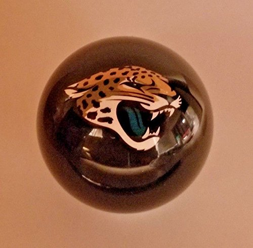 Jacksonville Jaguars Shift Knob Black NFL by BilliardBallShiftKnobs