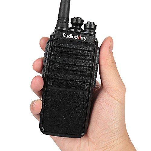 Sicherheit & Schutz Türsprechstelle Walkie Talkie 16ch Transceiver 400-470 Mhz Zwei-wege-radio Long Range Walkie Talkie