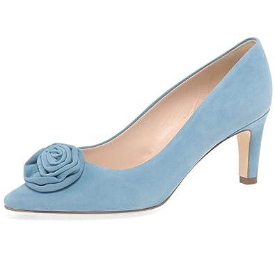 pretty nice da89e e1c3b Peter Kaiser Women's Ravali Suede Court Shoes 4.5 C (M) UK/ 7 B(M) US Levi  Suede