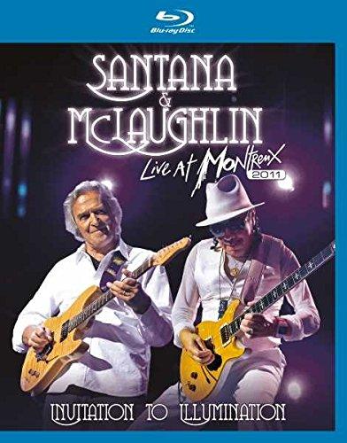 Santana & Mclaughlin-Invitation to Illumination [Blu-ray] (Santana Live At Montreux 2011)