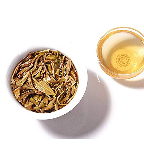 NanJie Southern World 2015 Spring [Old Class Chapter Three Years Chen Puzhen Raw Tea] Zhengzhai 300 Years Old Tree Pure Material Stone Milled Cake 14.1oz/Pie5 Pie by NanJie (Image #4)