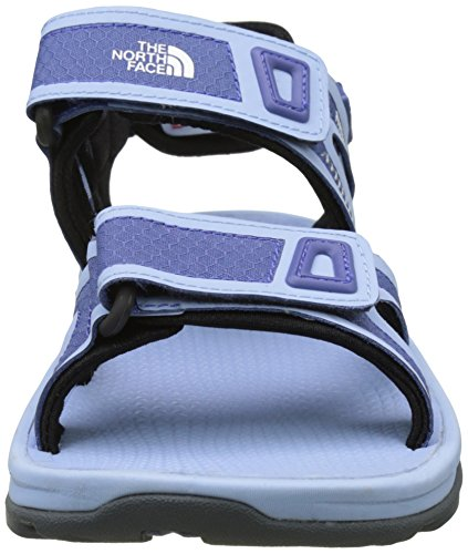 The North Face Hedgehog Ii, Sandalias Deportivas para Mujer Azul (Coastal Fjord Blue / Chambray Blue)