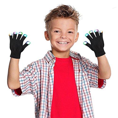 51jO5NEMn3L - Creative Toys for Girls Boys, TOP Toy Flashing LED Gloves Gifts for Teen Girls Boys Toys for 3-12 Year Old TTUSTTG03
