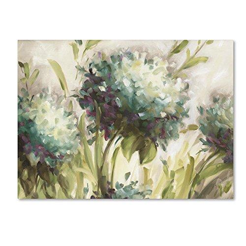 Hydrangea Field by Lisa Audit, 24x32-Inch Canvas Wall Art