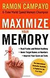 Maximize Your Memory, Ramón Campayo, 1601631170