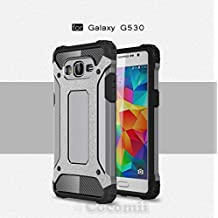 Galaxy Grand Prime Case, Cocomii Commando Armor NEW [Heavy Duty] Premium Tactical Grip Dustproof Shockproof Hard Bumper Shell [Military Defender] Full Body Dual Layer Rugged Cover Samsung G530 (Gray)