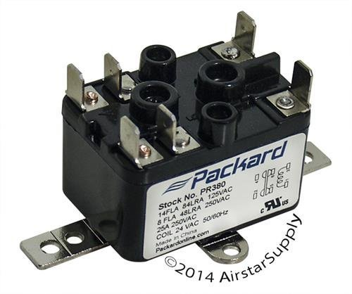 Coleman • 90-380 Replacement Heavy Duty Switching Fan Relay SPST 1-NO , 1-NC 24 V Coil