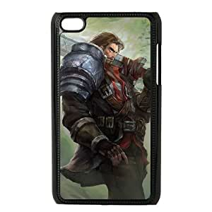 iPod Touch 4 Case Black Garen DIY Gift pxf005-3687392