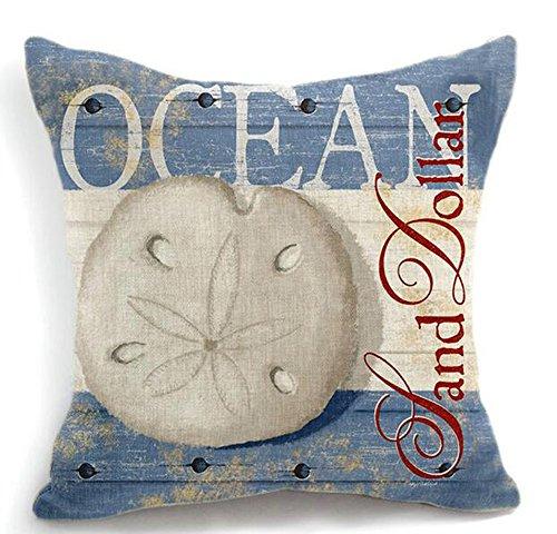 retro-mediterranean-sea-series-marine-life-sand-dollar-retro-blue-cotton-linen-throw-pillow-case-per