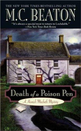 Death of a Poison Pen (Hamish Macbeth Mysteries, No. 20)