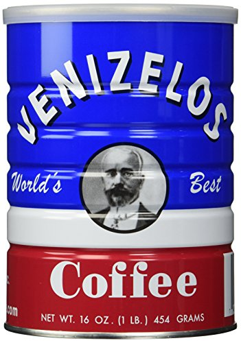 Venizelos Greek Style Ground Coffee, 454g