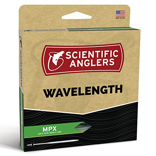 Scientific Anglers Wavelength MPX Taper - Amber / Optic Green, WF- 8-F