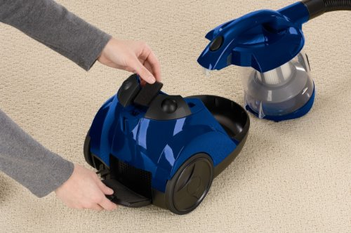 Bissell Zing Bagless Canister Vacuum Blue Buy Online In