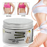 Anti Cellulite Cream, Hot Cream, Anti Cellulite Treatment, Fat Burning Cream for Reducing Appearance of Cellulite and Increasing Smoothness, Targets Unwanted Fat Tissues & Improves Skin Firmness