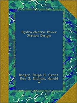 Books about hydro power plant
