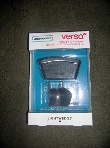Lightwedge Verso Rechargeable Arc Light for E-readers (VR...