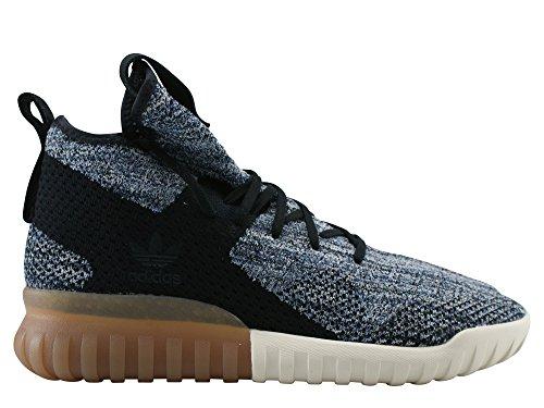 adidas Tubular X Primeknit - Zapatillas Hombre Negro (Core Black/trace Blue/tactile Blue)