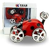Kids toy DZT1968 Mini 360° Rotation 2CH RC control Radio Remote Control Racing Stunt Flip Car