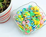 100PC Mix Color Knitting Stitch Counter Crochet