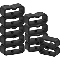 Chofit Siliconen Secure Band Keepers Bevestigingsringen Ringen Houders Loops Compatibel met Garmin Vivosmart 3/Vivosmart…