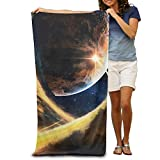 water right water softener - Super Absorbent Beach Towel Astronomy Wallpaper Polyester Velvet Beach Towels 31.551.2 Inch