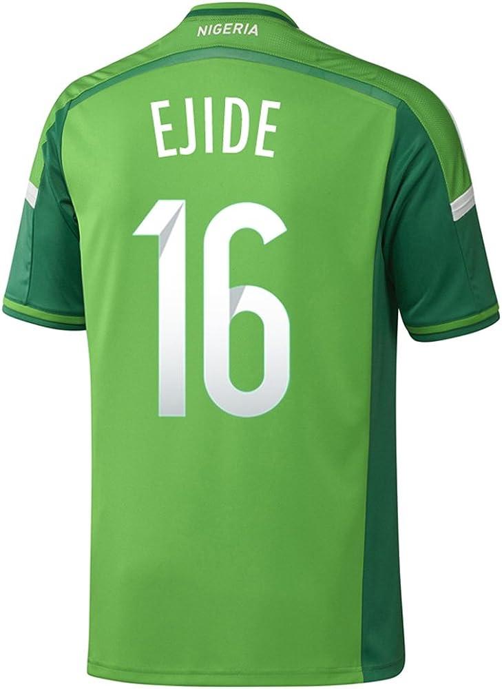 adidas EJIDE #16 Nigeria Home Jersey World Cup 2014