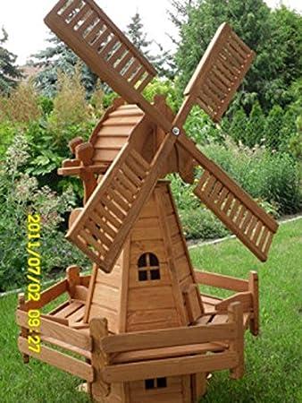 neerlandés Molino de viento 80 cm impägniert desmontable: Amazon.es: Jardín