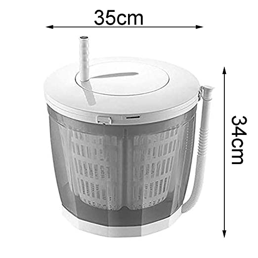 Marrón Claro Mini Lavadora Manual, Sobremesa Secadora, cámping ...