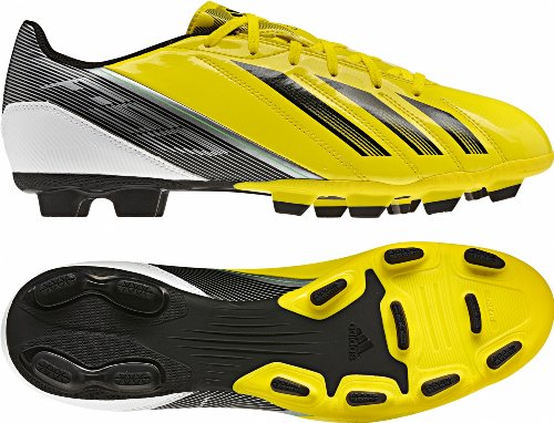 Adidas F5 TRX FG Yellow/Black Mens Soccer Cleats