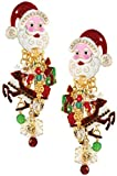 Lunch at The Ritz 2GO USA I Believe In Santa Earrings Clips