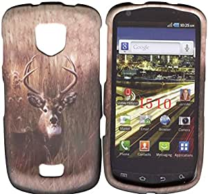 Samsung Droid Charge i510 Verizon Buck Deer Case Cover Hard Phone Case Snap-on Cover Rubberized Frosted Matte Surface Hard Shells