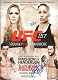 ufc fight programs - Dan Henderson & Liz Carmouche Signed UFC 157 Program 2013 Ronda Rousey 1st Fight - Autographed UFC Miscellaneous Products
