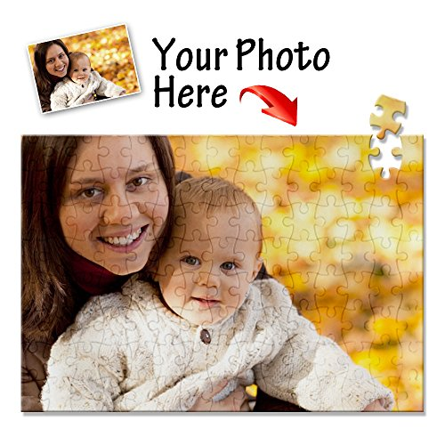 Personalized Jigsaw Puzzle Custom Photo Print for Kids Adult,117 Pieces A4 Size ()