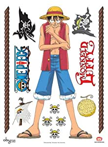 Abystyle ABYDCO073_B - One Piece Luffy, pegatinas (50 x 70 cm)