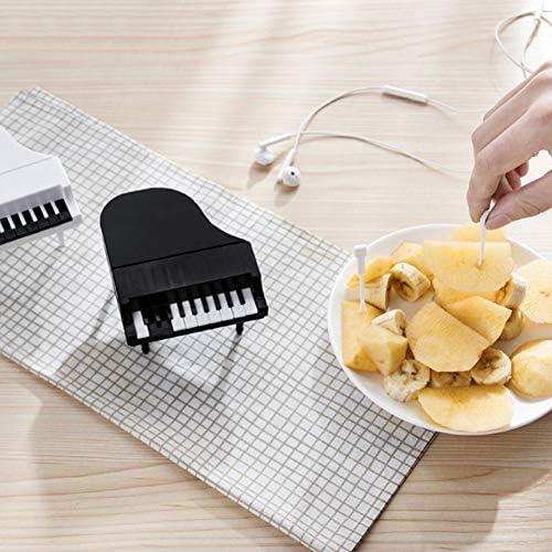 RONSHIN Forma de Teclado de Piano Tenedor de Fruta para niños ...